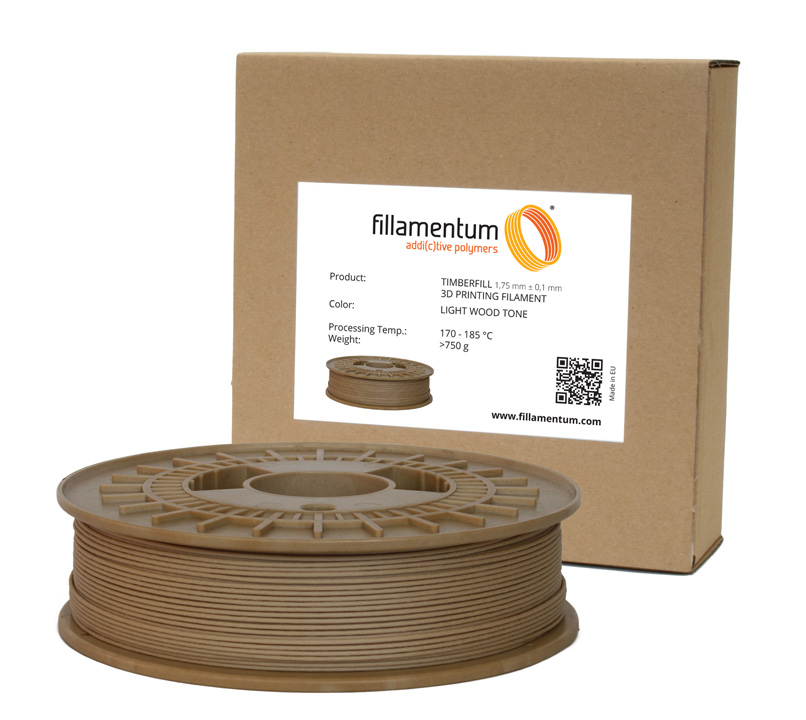 Fillamentum Timberfill 1,75mm Light Wood Tone
